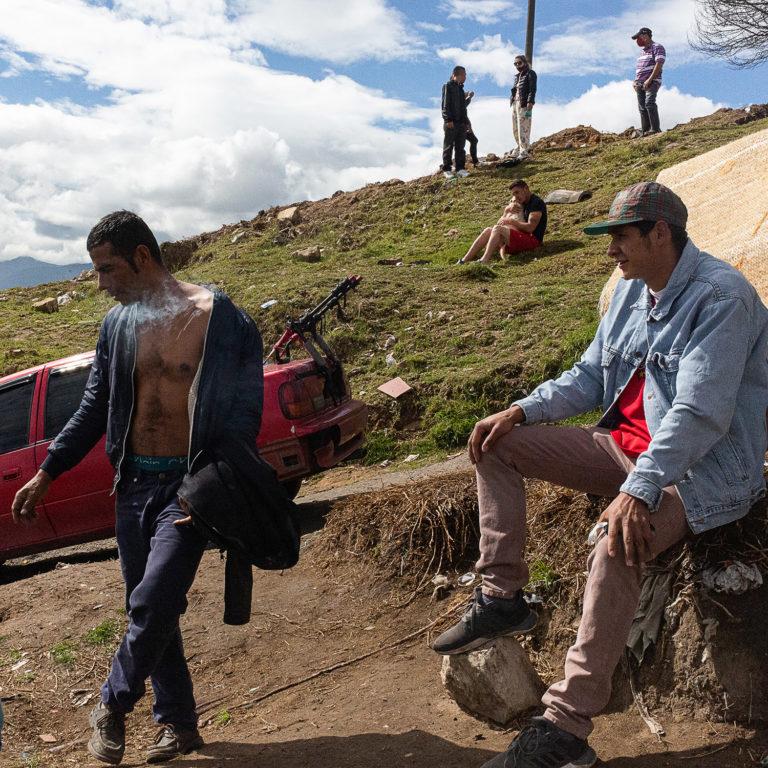 Días de hambre en Bogotá